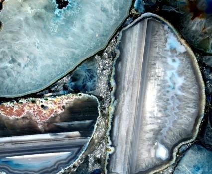 Blue Agate Preciousilver